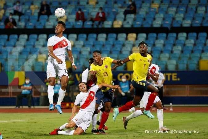 Jadwal Copa America 2021 Ekuador vs Peru di Grup B