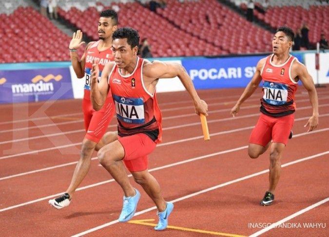 Lalu Zohri rebut perak di Doha dan pertajam rekor nasional 100 meter
