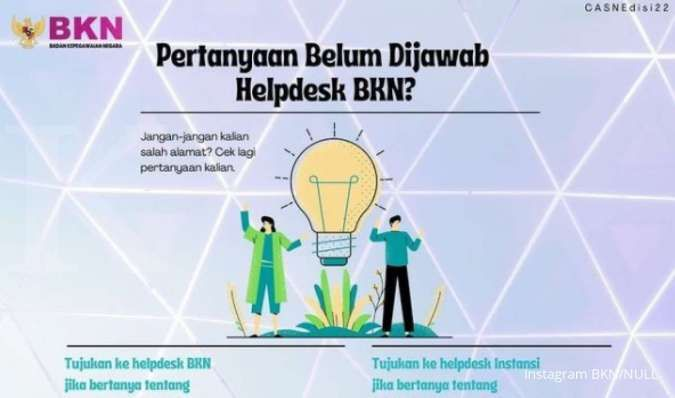 Ini daftar pertanyaan untuk BKN dan instansi CPNS 2021, jangan sampai keliru