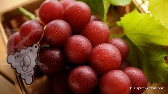 Wow! Infused water anggur punya banyak manfaat untuk kesehatan tubuh Anda