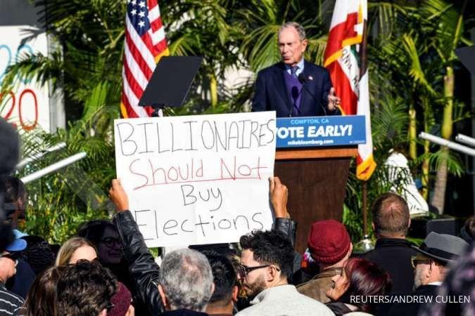 Kampanye AS: Jika terpilih, Michael Bloomberg akan menjual perusahaannya