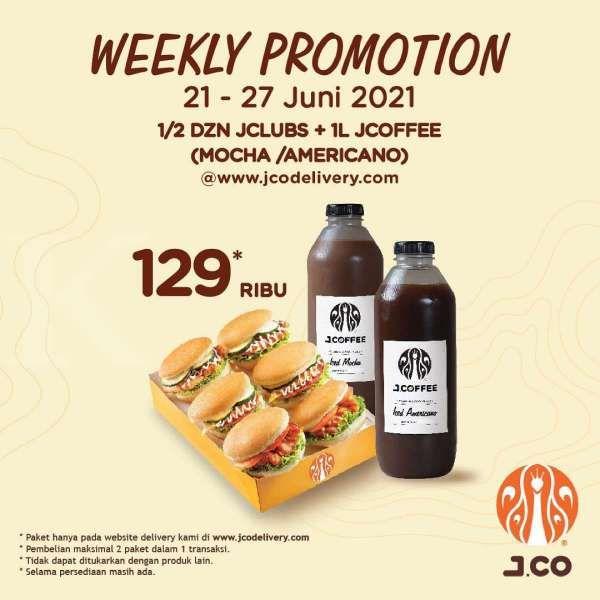 Promo J.CO 21-27 Juni 2021