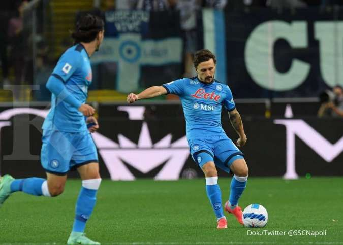 Hasil Liga Italia Udinese vs Napoli: Tekuk Zebrette 0-4, Partenopei ke puncak Serie A