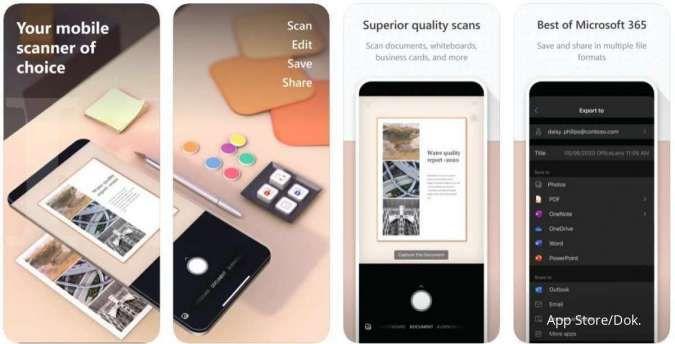 Berevolusi, Microsoft Lens jadi aplikasi scan dokumen dengan fitur lengkap di HP