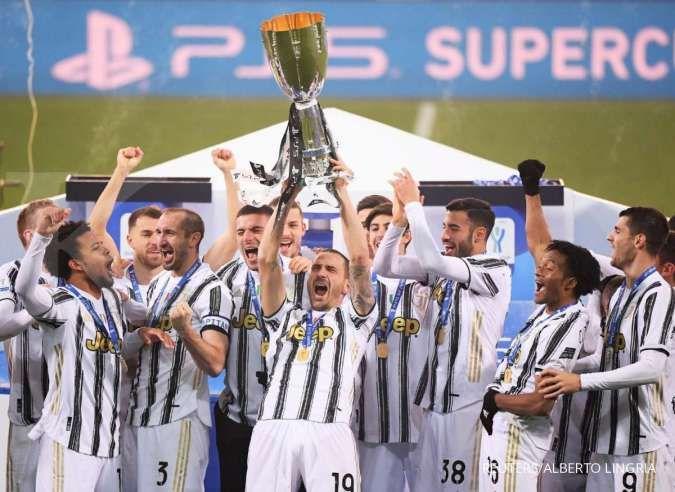 Jelang laga Inter vs Juventus di Coppa Italia