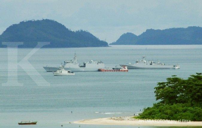 India mengerahkan sejumlah kapal perang di Laut Cina Selatan