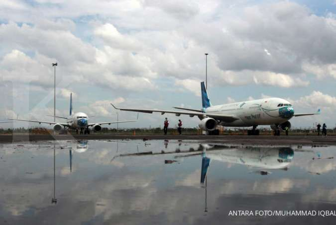 Garuda Indonesia Gelar Efesiensi, Prospek Saham GIAA Diprediksi Bakal Lebih Baik