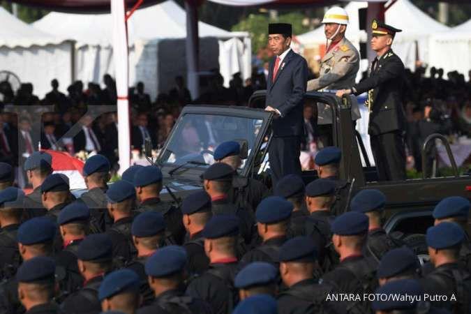 Jokowi ucapkan selamat Hari Bhayangkara ke-74