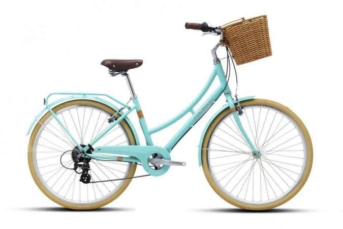 Harga sepeda keranjang Polygon, termurah Rp 1.975.000