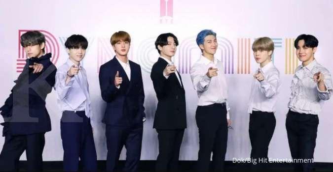 BTS menjadi boy grup K-Pop terpopuler di Desember tahun 2020.
