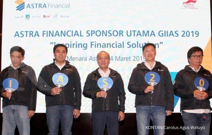Jadi sponsor utama, Astra Financial targetkan transaksi Rp 1,2 triliun di GIIAS 2019