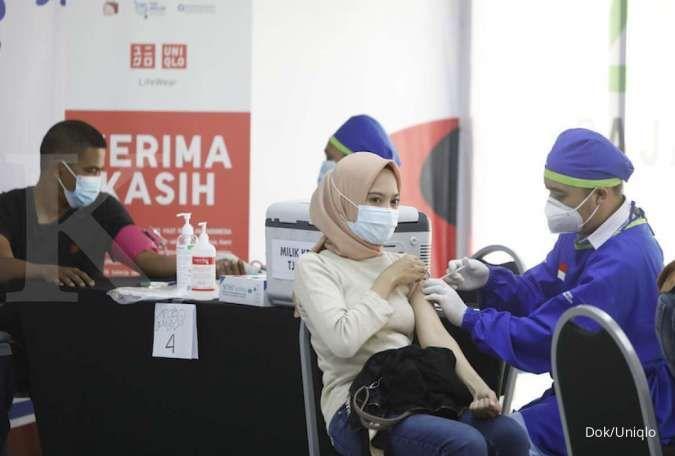 Uniqlo Indonesia Membuka Sentra Vaksinasi di 5 Daerah di Indonesia untuk Mendukung Program Percepatan Vaksinasi