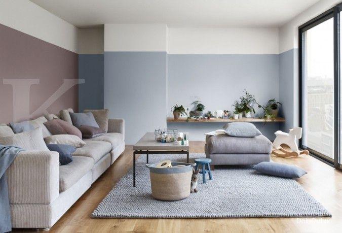 Warna teduh dan halus cocok untuk rumah di tahun tikus logam