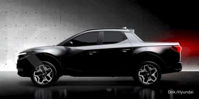 Hyundai Santa Cruz, varian terbaru mobil pick up double cabin dari Korea