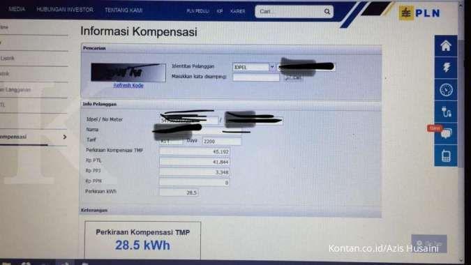 Kompensasi blackout PLN langsung tertera rupiah pengganti, saya dapat Rp 45.192