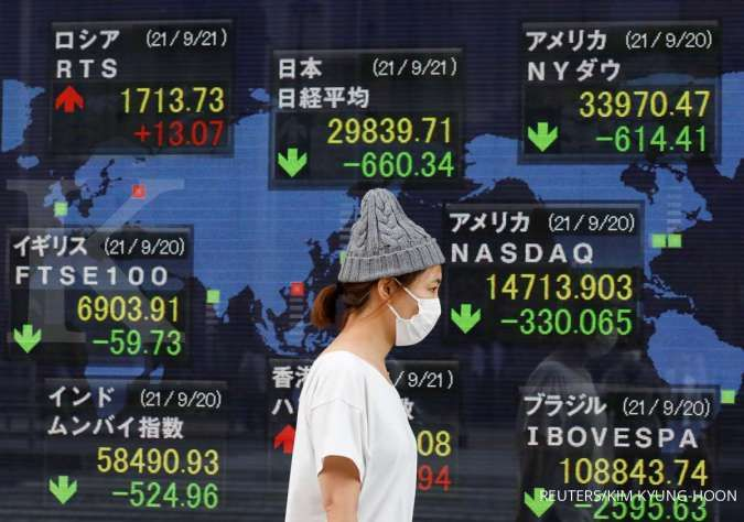 Asia shares hesitant as oil hits 3-year highs