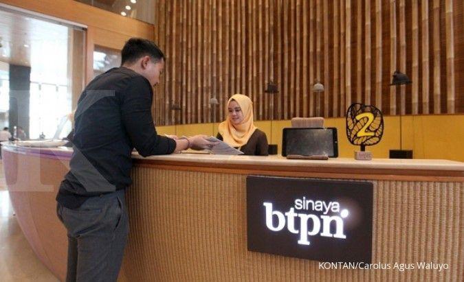 Sepanjang 2019, penyaluran kredit Bank BTPN tumbuh 108%