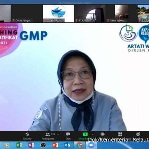 KKP Permudah Produk UMKM Tembus Pasar Global dengan GMP Sertifikat