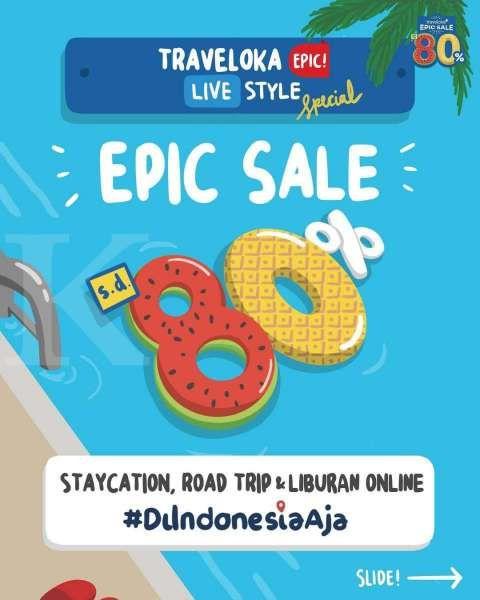 Dorong Pemulihan Ekonomi Pariwisata Indonesia Staycation Dan Roadtrip Menjadi Tren Favorit Traveloka Epic Sale 2020