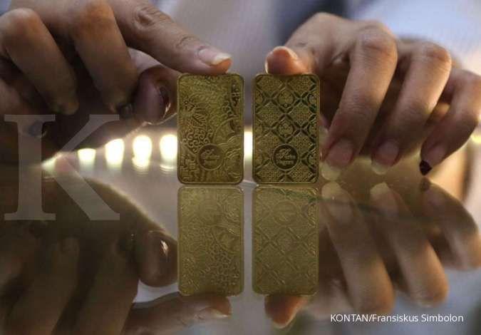Turun Rp 4.000, harga emas Antam hari ada di Rp 957.000 per gram pada Sabtu (23/1)