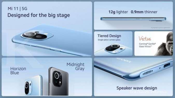Pengguna Snapdragon 888 pertama di Indonesia, ini spesifikasi & harga Xiaomi Mi 11