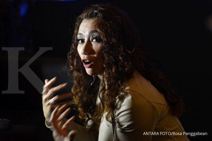 Tertangkap lagi, penyanyi Reza Artamevia mengaku gunakan sabu karena sering di rumah