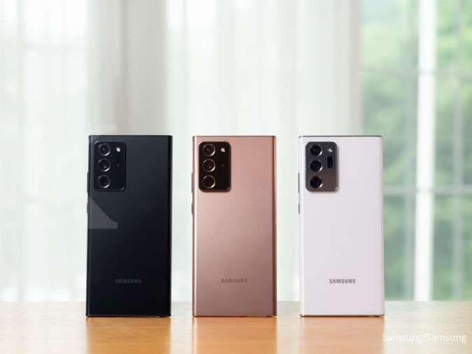 Pilihan warna mistik Samsung Galaxy Note20 Ultra siap menyihir pembeli