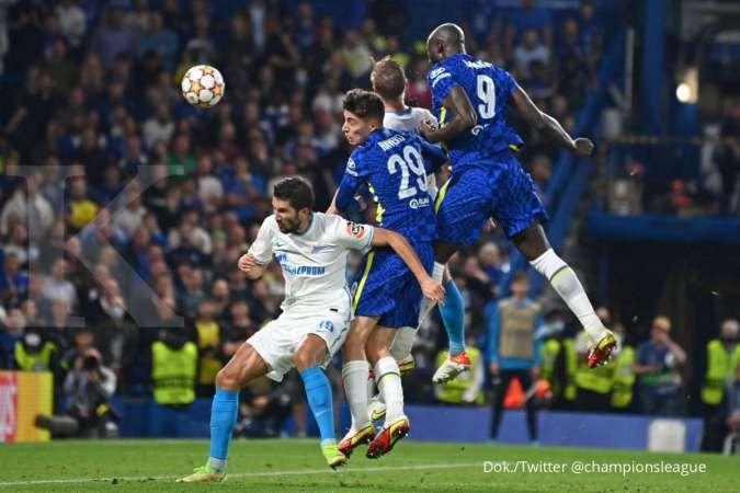 Hasil Liga Champions Chelsea vs Zenit