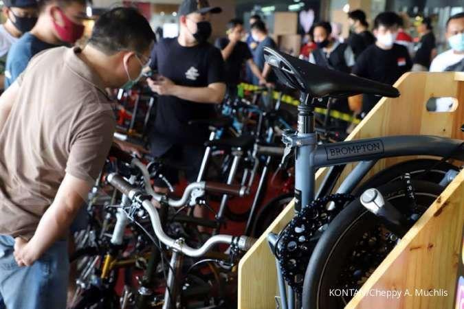 Turun harga, banderol sepeda Brompton lebih murah dan terjangkau