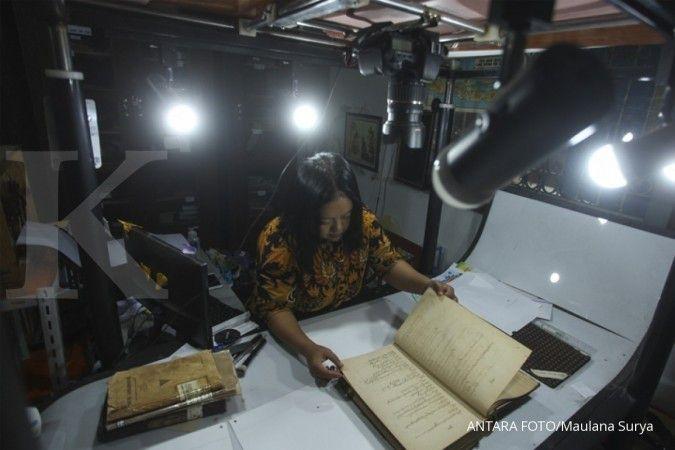 Naskah-naskah kuno di keraton Yogyakarta mulai didigitalisasi