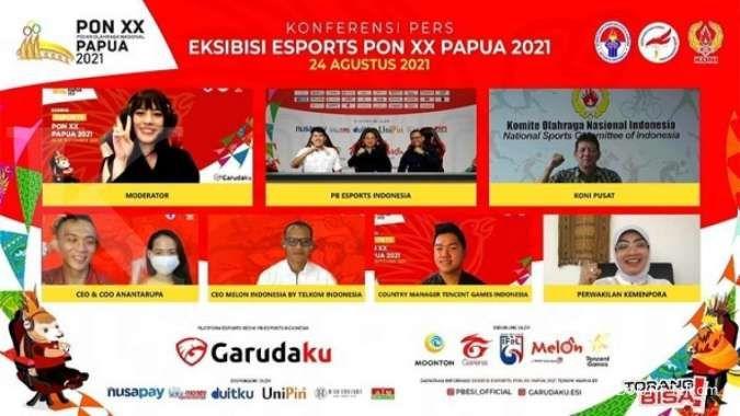 Laga persahabatan e-sports game Lokapala di PON XX Papua