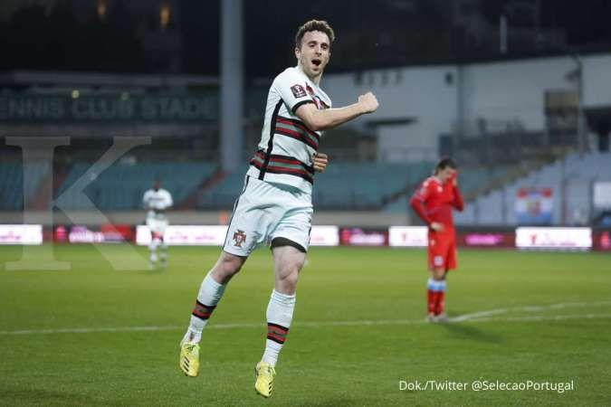 Luksemburg vs Portugal: Tim Selecao menang 1-3 atas Die Roten Lowen