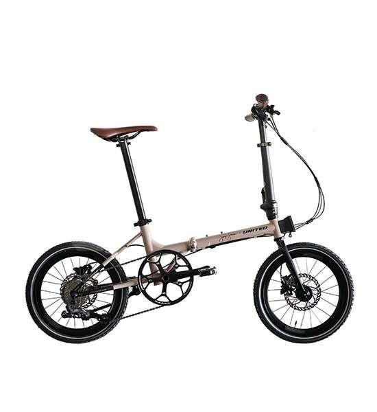 Baru, harga sepeda lipat United Black Horse X Janji Jiwa masih terjangkau