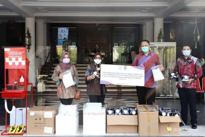 Unilever beri 15.000 unit barang bantuan ke Pemkot Surabaya untuk tangani Covid-19