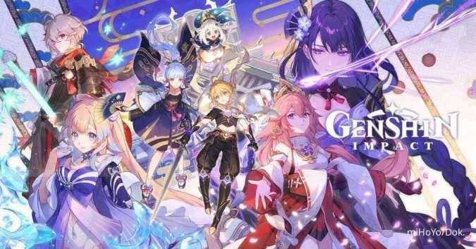 Inilah event terbaru Genshin Impact, dapatkan primogem hingga senjata gratis