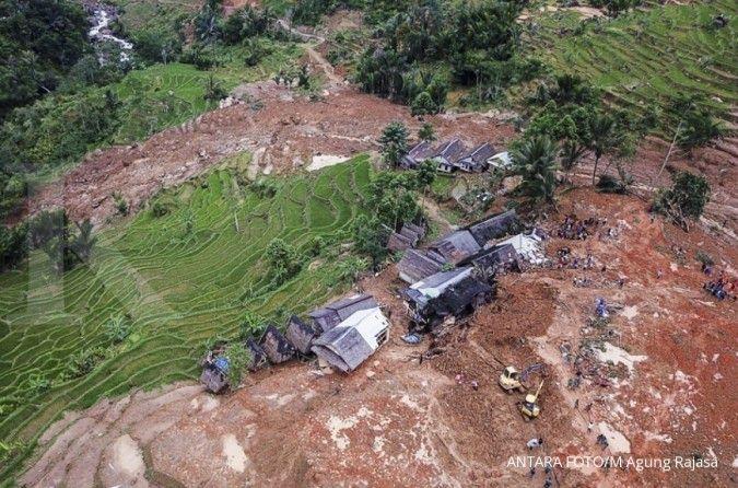Update longsor Cisolok Sukabumi: 22 jenazah sudah ditemukan, 11 masih hilang