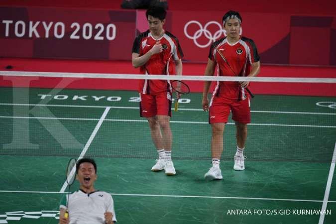 Hasil badminton Olimpiade Tokyo 2020, Marcus Fernaldi Gideon/Kevin Sanjaya Sukamuljo