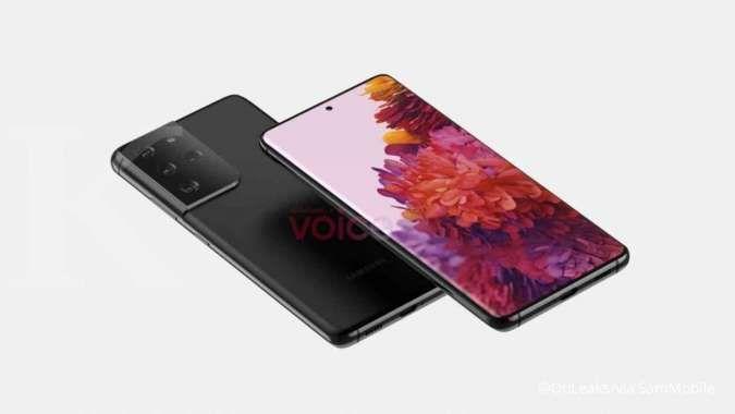 Bocoran desain Samsung Galaxy S21 Ultra