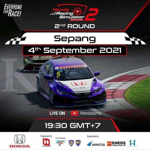 Honda Racing Simulator Championship Berlanjut ke Seri Kedua di Sirkuit Virtual Sepang