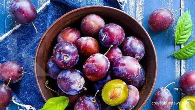 Jus buah plum efektif menurunkan kolesterol dalam tubuh