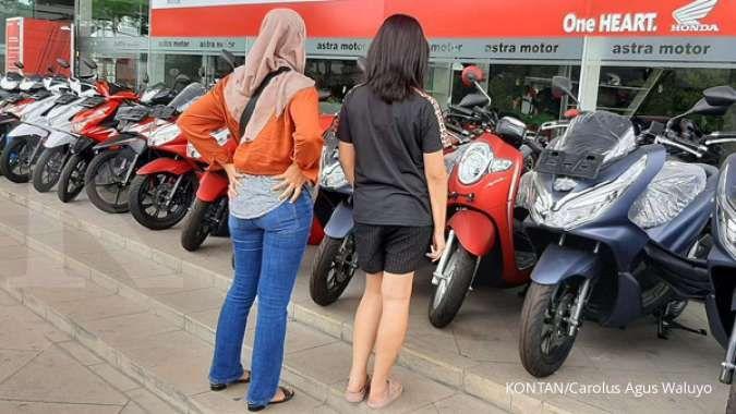 Harga motor bekas Honda BeAT tahun muda ini cuma Rp 8 jutaan per Oktober