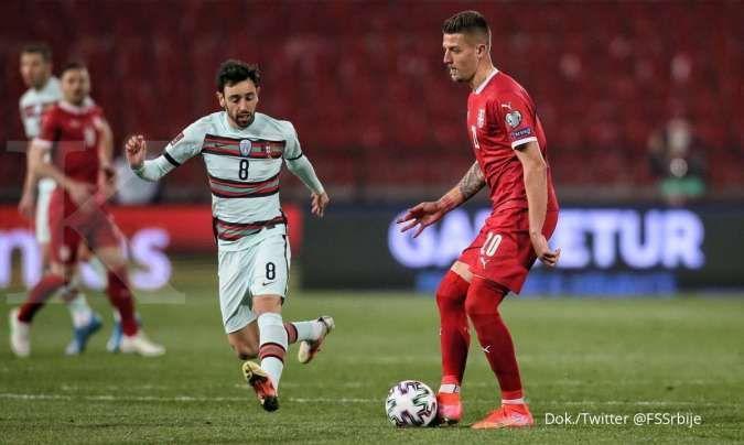 Hasil Kualifikasi Piala Dunia 2022 antara Luksemburg vs Portugal