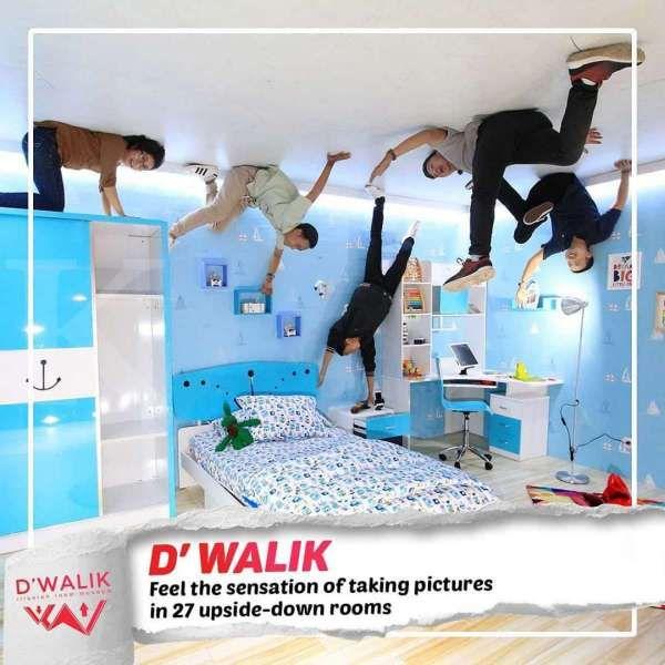 Foto terbalik di D'Walik bikin hasil jepretannya jadi lebih unik