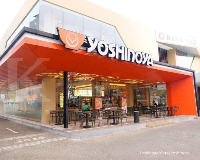 Simak promo Yoshinoya khusus GrabFood yang menawarkan makan enak dan hemat sampai 16 Agustus 2020. Gerai Yoshinoya. Dok: Instagram Yoshinoya.
