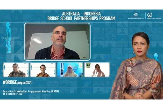 Education Stakeholder Engagament Meeting '21 oleh Program BRIDGE Australia-Indonesia