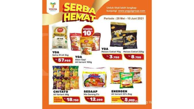 Promo Yogya Supermarket weekday 10 Juni 2021, masih ada program Serba Hemat!