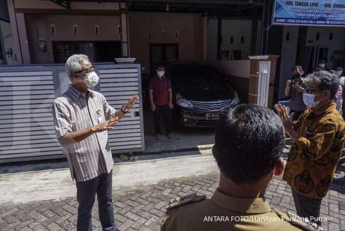 Semua wilayah di Jawa Tengah PPKM darurat, Ganjar Pranowo: Jangan panik