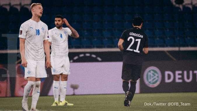 Hasil Kualifikasi Piala Dunia 2022 antara Jerman vs Islandia