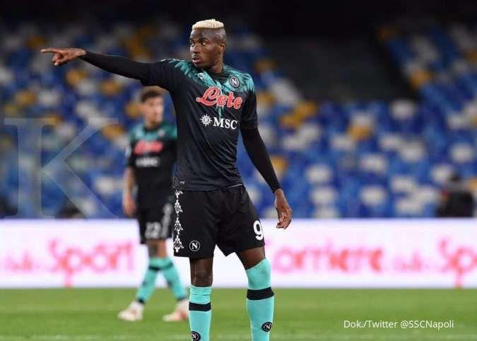 Hasil laga Napoli vs Inter Milan di Liga Italia Serie A