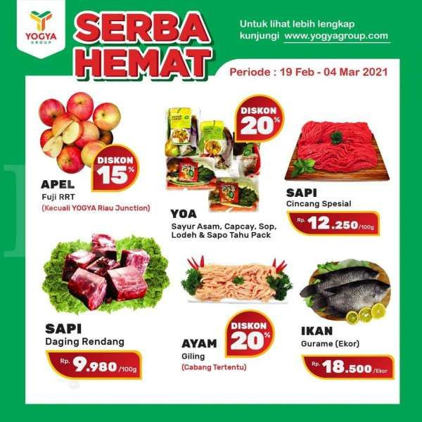 Promo Yogya Supermarket 19 Februari – 4 Maret 2021